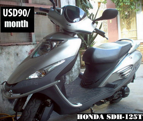 HONDA e-sky - 125cc scooter - VND900,000/month (US$42) for monthly rental
