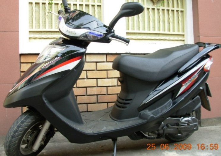 SYM ATTILA VICTORIA - 125cc scooter - VND900,000/month (US$42) for monthly rental