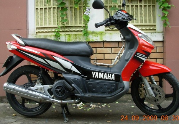 YAMAHA NOUVO I 115cc scooter - VND800,000/month (US$37) for long-term rental