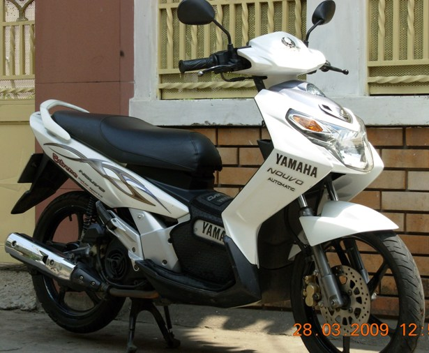 YAMAHA NOUVO II 115cc scooter - VND1,000,000/month (US$45) for long-term rental