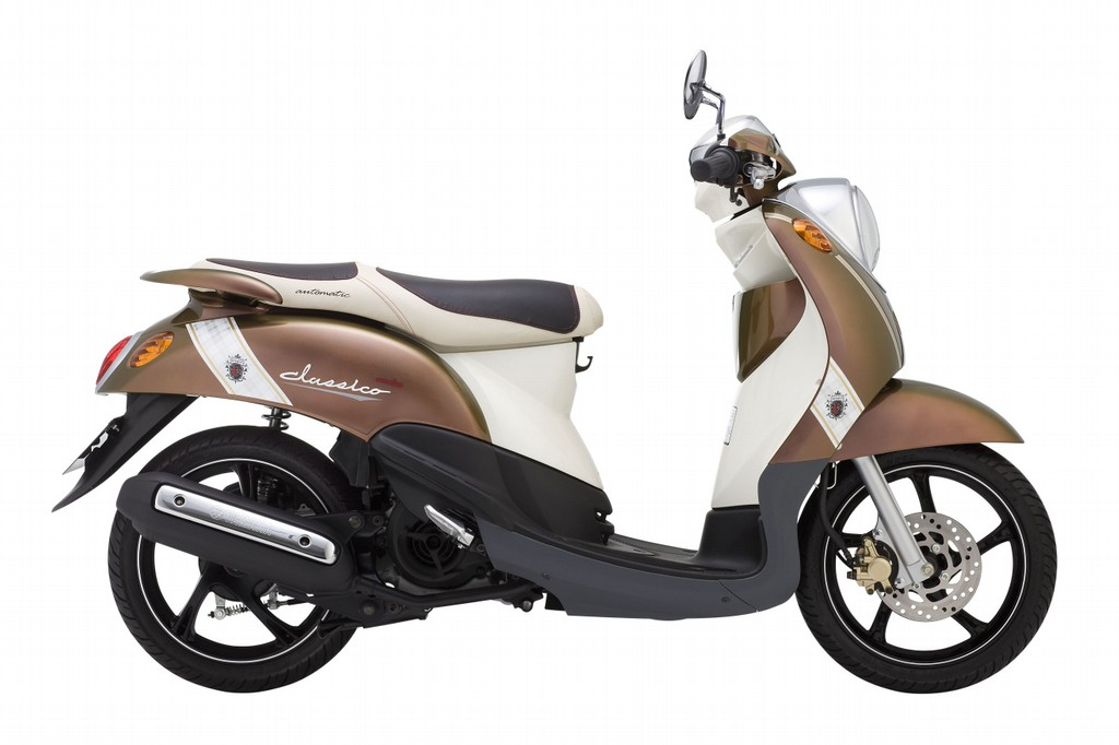 Yamaha Classico - Light Weight 115cc Automatic Scooter - Quite New - VND1,300,000/month (US$60) for long-term rental